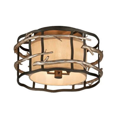 Adirondack 4-Light Semi-Flush Mount