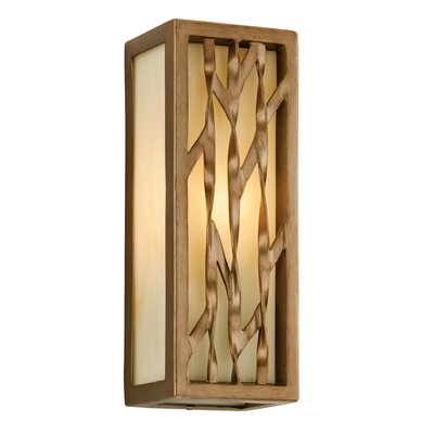 "Troy Lighting Serengeti 1 Light Outdoor Wall Light - Size: 12"" H x 4.5"" W x 4"" D, Bulb Type: 60W Medium Base at Sears.com"
