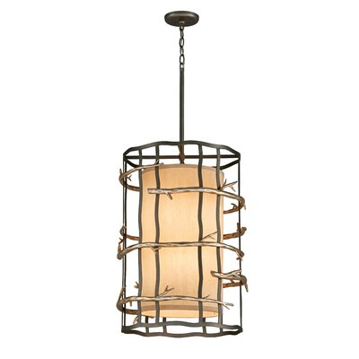 Adirondack 3-Light Pendant Size: Medium