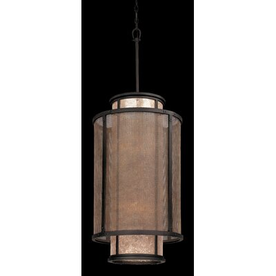 Copper Mountain 8-Light Pendant Size: 46.625 H x 18 W