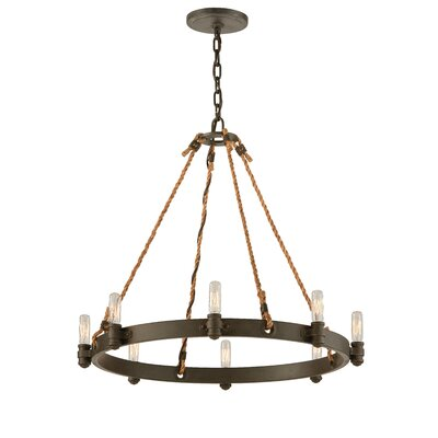 Holly 8-Light Candle-Style Chandelier