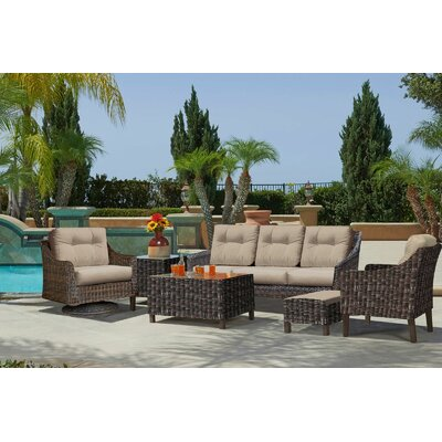 Trenton 6 Piece Sofa Set
