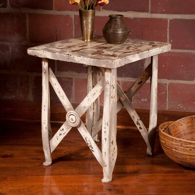 British Raj Bundi End Table