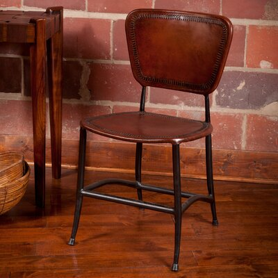 Signature Rocket Side Chair Upholstery: Brown