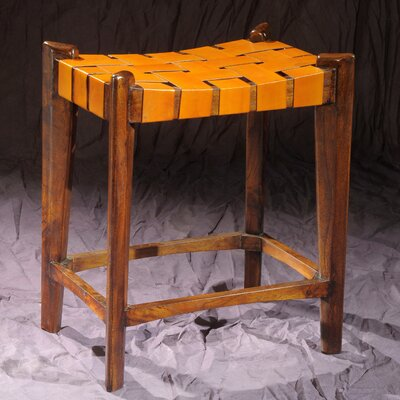 Old Glory City 27 Bar Stool Upholstery: Mustard