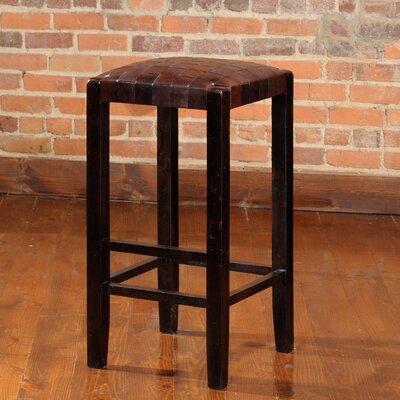 Studio 30 inch Bar Stool Upholstery: Espresso