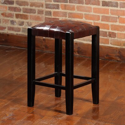 Studio 24 Bar Stool Upholstery: Espresso