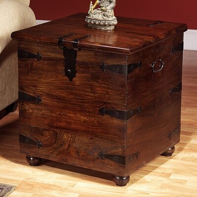 Furniture gt living room furniture gt coffee table gt square for Thakat bar box trunk coffee table