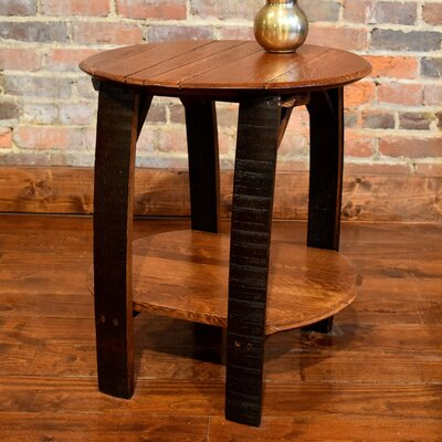 Shooters End Table
