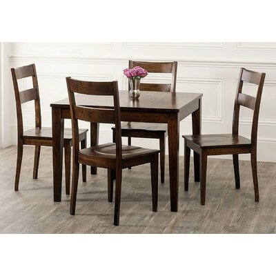 sonoma 5 piece dining set dining room sets cappuccino finish modern 5pc dining set w optional color