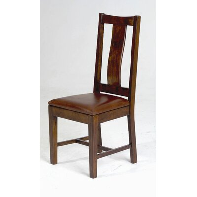 Easy financing Saddler Wood Back Side Chair...