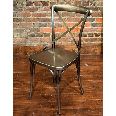 Wilna Side Chair Finish: Nickel