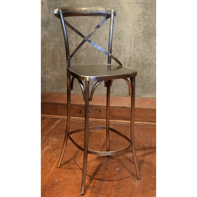 Wilna Bar Stool Finish: Nickel