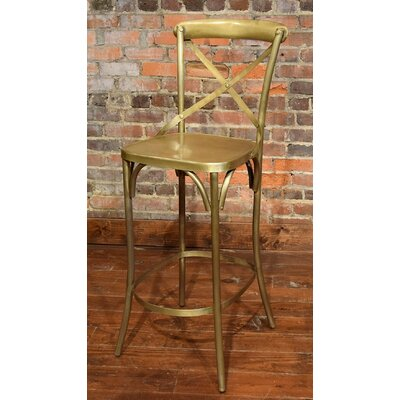 Wilna Bar Stool Finish: Brass