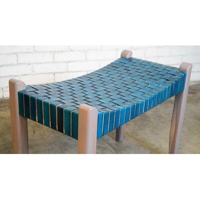 Hera Modern Rustic Wood Bench