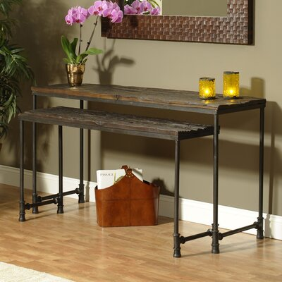 Saal 2 Piece Nesting Console Table Set