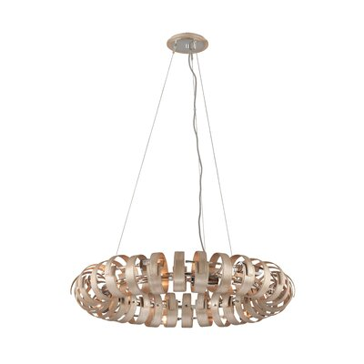 Recoil 12-Light Globe Pendant
