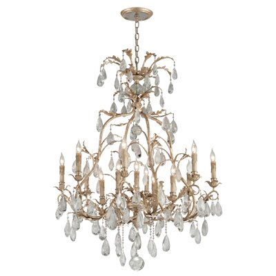 Lawhon 13-Light Crystal Chandelier