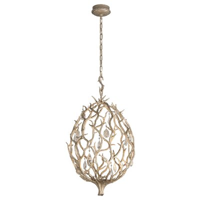 Enchanted 1-Light Pendant Size: 18