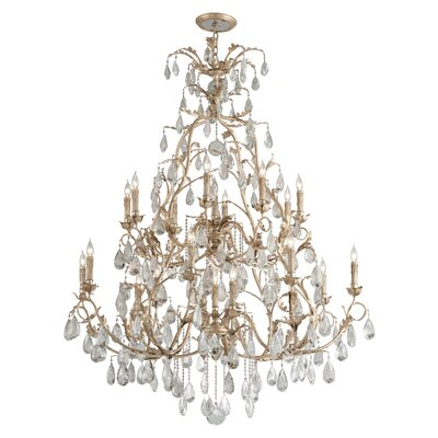 Vivaldi 22-Light Crystal Chandelier