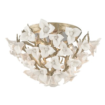 Lily 4-Light Ceiling Flush Mount