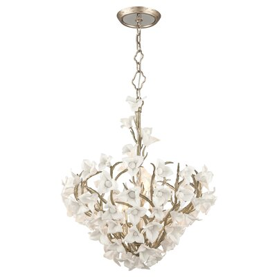 Lily 6-Light Foyer Pendant