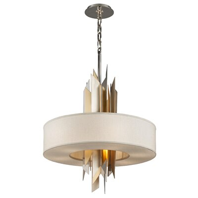 Modernist Incandescent 8-Light Pendant