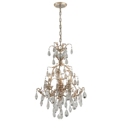 Lawhon 4-Light Crystal Chandelier
