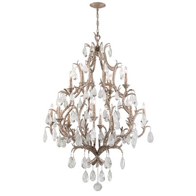 Amadeus 12-Light Crystal Chandelier