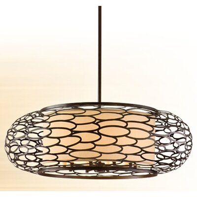 Cesto 10-Light Drum Pendant
