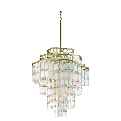 Dolce 12-Light Foyer Pendant Size: 25 x 28