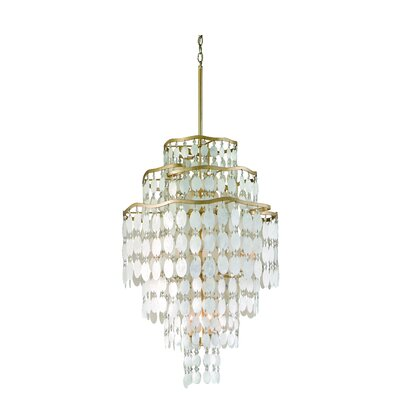 Dolce 12-Light Foyer Pendant Size: 39 x 37