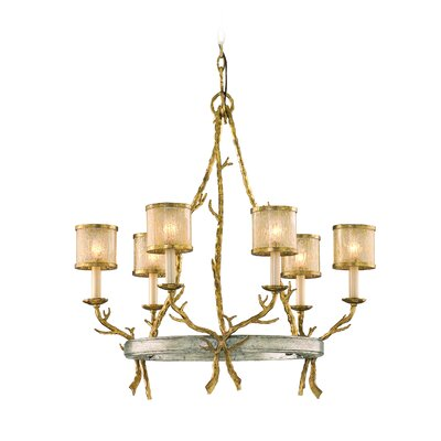 Parc Royale 6-Light Shaded Chandelier