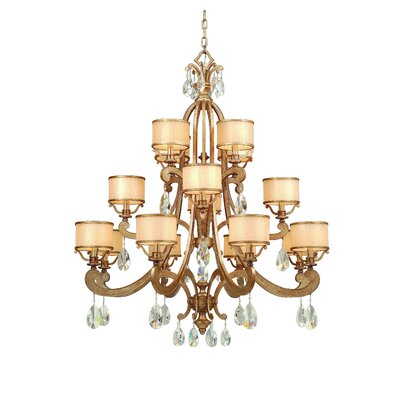 Roma 16-Light Drum Chandelier Finish: Antique Roman Silver