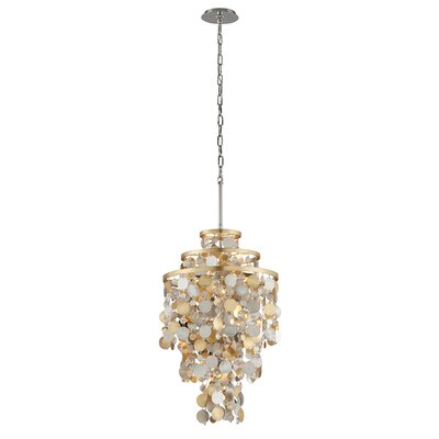 Ambrosia 5-Light Crystal Pendant