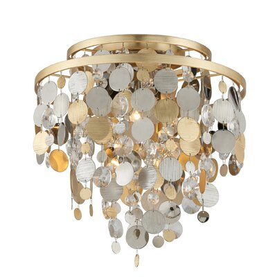Ambrosia 3-Light Flush Mount