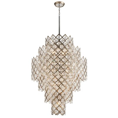 Tiara 17-Light Crystal Chandelier
