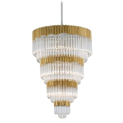 Charisma 17-Light Crystal Chandelier