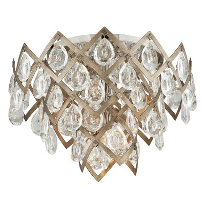 Tiara 3-Light Flush Mount