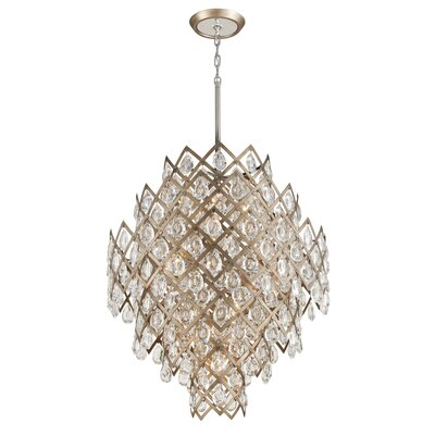 Tiara 11-Light LED Crystal Chandelier