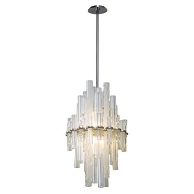 Manhatten 2-Light Geometric Pendant