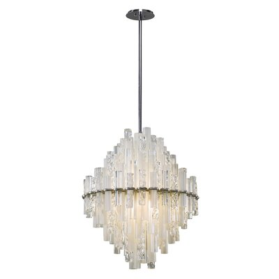 Manhatten 3-Light Geometric Pendant