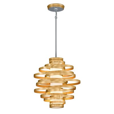 Vertigo 2-Light Foyer Pendant