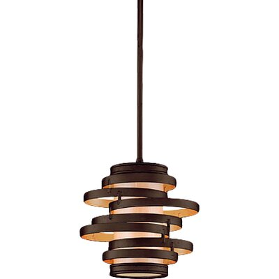 Vertigo 1-Light Hanging Mini Pendant