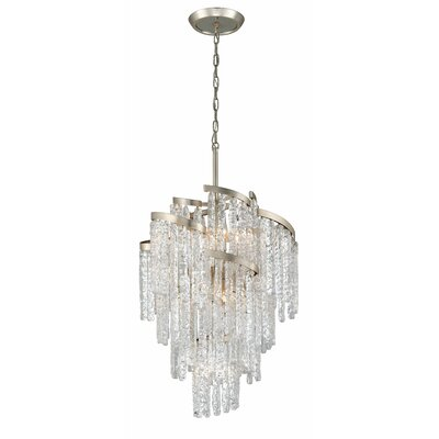 Mont Blanc 9-Light Crystal Chandelier