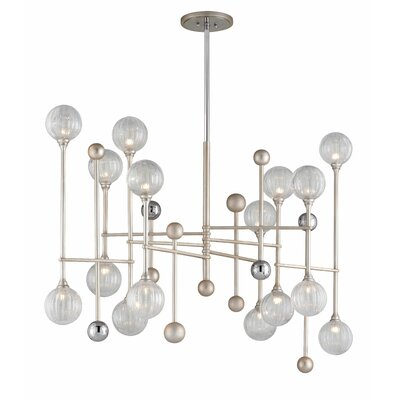 Majorette 16-Light Sputnik Chandelier