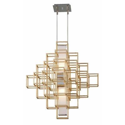 Metropolis 2-Light LED Geometric Pendant