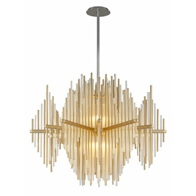 Theory 2-Light LED Geometric Pendant