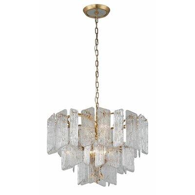Piemonte 8-Light Crystal Chandelier