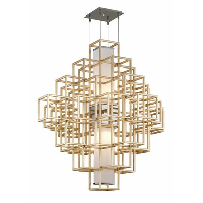 Metropolis 2-Light LED Geometric Pendant